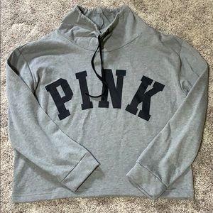 NWT Victoria secret pink crop sweater